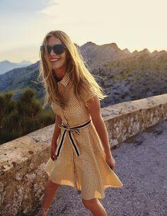 Sophia Shirt Dress WH987 Day Dresses at Boden