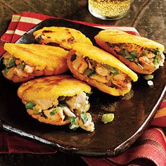 Global Recipes for Thanksgiving Leftovers | Colombian: Turkey Arepas from Leftover Turkey | CookingLight.com