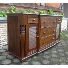 Pineapple 5 Drawer 2 Door Dresser At Elementfinefurniture.com Hand Made Solid Wood Furniture