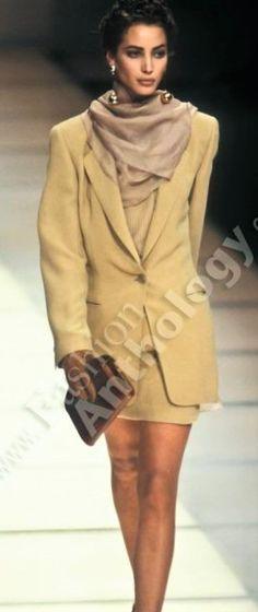 Christy Turlington - Giorgio Armani 1991