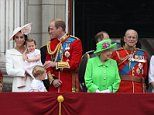 Thousands of people are lining the streets between Buckingham Palace and Horse Guards Parade for today's Trooping the Colour as the Queen's official 90th birthday celebrations continue.