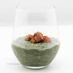 Hovkonditorn: Chia Pudding with Purple Balance Protein Blend