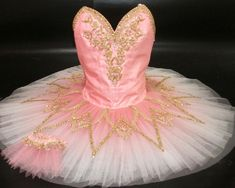NEW COLLECTION 2015! This professional ballet costume is perfect for the role of the Pink Fairy in Sleeping beauty, for Princess Aurora in Act II of Sleeping Beauty, for Sugar Plum Fairy and many othe