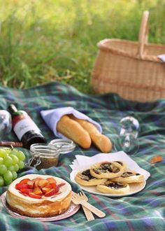 Picnic for two.