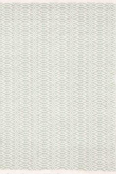#DashAndAlbert Fair Isle Ocean/Ivory Cotton Woven Rug.