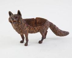 Vienna Bronze Figural Fox Pen Wipe : Lot 113