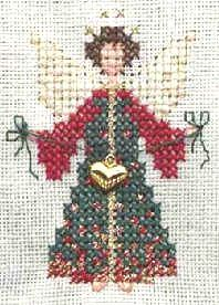 """Angela"" - free cross stitch pattern"