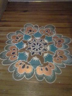 Floor mandala.