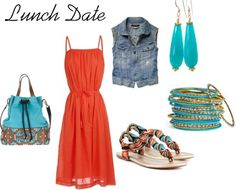 Lunch Date - great summer style!