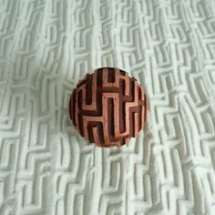 "9"" Mini Zen Garden: Circular Tray w/Large Sphere & Fine Sand"