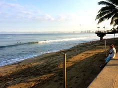 Morning walk to school today.  Isn't it the perfect environment to learn Spanish? #lovepv #learnspanish #StudyAbroad