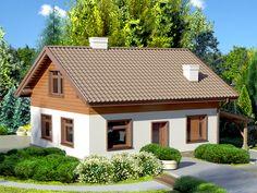 DOM.PL™ - Projekt domu Dom przy Imbirowej 3 CE - DOM EB3-29 - gotowy projekt domu