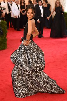 Here, the star shined at the Met Costume Institute Gala wearing Michael Kors.   - ELLE.com