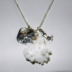 Dreaming of the Sea Necklace Coral Reef by CloudNineDesignz