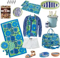 Feeling Inspired: Lake Party with Vera Bradley
