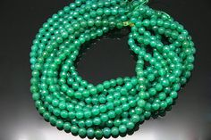 1strand  natural green agate faceted ball sized 8mm by 3yes