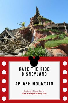 Rate the Ride Disneyland Resort California, Song Of The South, Hundred Acre Woods, Splash Mountain, Disney Rides, More Fun, Fun Facts, Country, Room