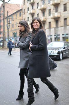 Emanuelle Alt, Geraldine Saglio Photo: TrendyCrew