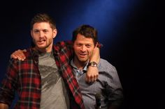 Jensen and Misha #ji