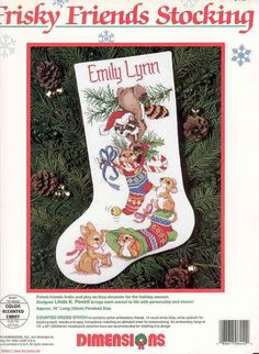 Embroidery Stitches Meaning Cross Stitch Christmas Stockings, Cross Stitch Stocking, Xmas Cross Stitch, Cross Stitch Needles, Counted Cross Stitch Kits, Christmas Cross, Cross Stitching, Cross Stitch Patterns, Christmas Stocking Holders