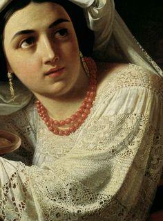 Timashevskiy Orest Isakovich-Girl of Italy   - Click to enlarge