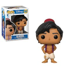 Funko Pop Vinyl Figure Disney Aladdin Overwatch Exclusive Action Figures Toy New  This Aladdin POP vinyl comes packaged in a window display box, and measures approximately 3 3/4-inches tall.