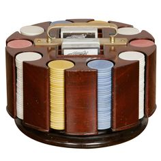 Gamblers Poker Chip Carousel by Asprey Boy Gifts, Gifts For Boys, Poker Games Online, Theatre Games, Modern Games, Poker Night, Poker Chips, Brass Handles, Carousel