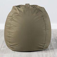 Large Dark Green Bean Bag Chair #BeanBagChair #ergonomicchairs