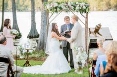 Amy Allen Photography. Ceremony Details. North Carolina Backyard Wedding