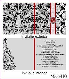 BebeStudio11.com - Invitatii Nunta si Botez: Invitatii Nunta Patrate Playing Cards, Cards, Game Cards, Playing Card