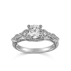 Love all the vintage styles on the Helzberg Diamonds website, but this one is my favorite!