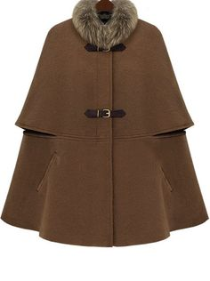 Fur collar, swing cape, belt fastenings..... Key piece. To be produced in Navy, Black, Wine & colour as shown. ETA Sept 5th, for two colours, second ETA Oct 5th with remaining colours, High price point.