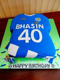 Leicester City Football Shirt Cake xMCx