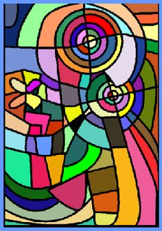 Modern Art - by Sonia Delaunay    ...BTW, check this out!!!! :   http://artcaffeine.imobileappsys.com