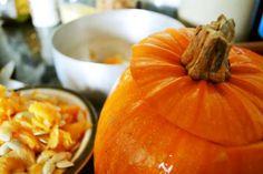 Pumpkin, Seeds & Pan