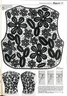 Duplet No. 99 Russian crochet patterns magazine - Duplet - Crochet Tutorials