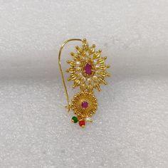 Ethnic Design Indian Jewelry Rajasthani Nose Pin