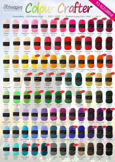 Scheepjes Colour Crafter Yarn - Paradise Fibers