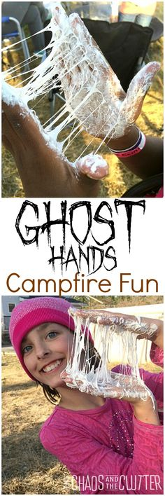 Ghost Hands - the most fun you can have around a campfire!