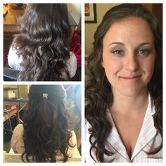 Extensions Before After Wedding Day Brides Hair Pi