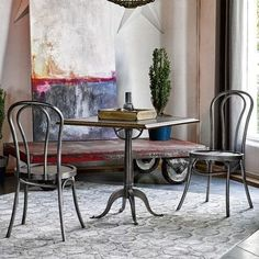 Universal Furniture Curated 3 Piece Dining Set