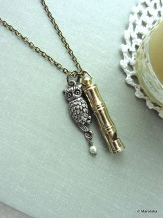 Owl whistle.