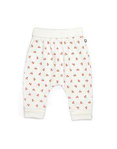 Oeuf Organic Hammer Pants With Cherries