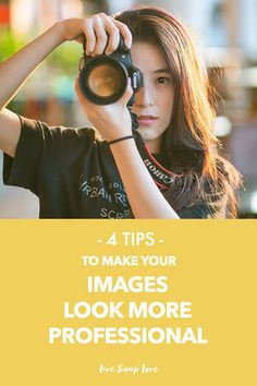 Images missing that professional look? Here's four photography tips to help you take images that shine.