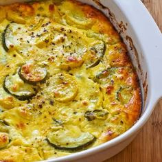 Slow Cooker Zucchini and Squash Casserole