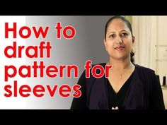 How to make a simple kurti - drafting pattern on paper (sleeve) - Part 2 - YouTube