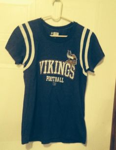Minnesota Vikings Ladies Purple Knit Top.  Size S. NWOT #MinnesotaVikings