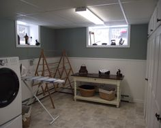 Unfinished Basement Laundry Room Ideas 1000 Images About Laundry Room
