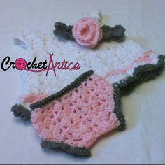 Newborn summer dress, baby girl dress, crochet baby dress, white dress, pink flower head band, pink baby bloomers