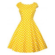 Buy wholesale vintage polka dot party pin up dress l yellow for $9.12 from China vintage dresses wholesaler. Online polka dot jackets and polka dot coats with best quality,cheap price and fast delivery on Rosewholesale.com.